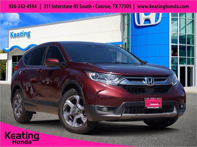 2018 Honda CR-V EX for sale in Conroe, TX