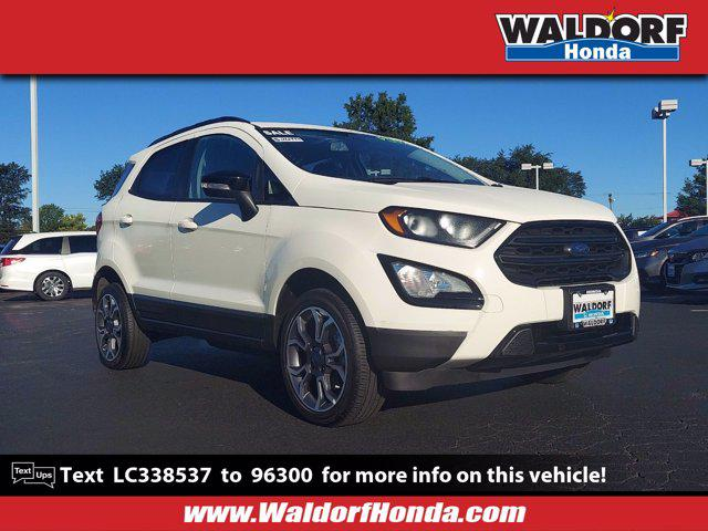 2020 Ford EcoSport SES for sale in Waldorf, MD
