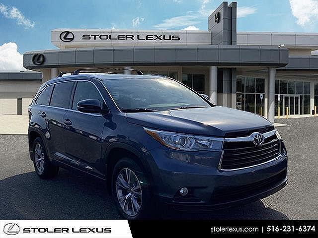 2015 Toyota Highlander XLE for sale in Farmingdale, NY