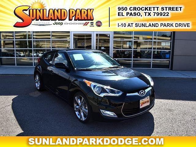 2017 Hyundai Veloster Value Edition for sale in El Paso, TX