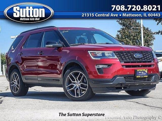2018 Ford Explorer Sport for sale in Matteson, IL