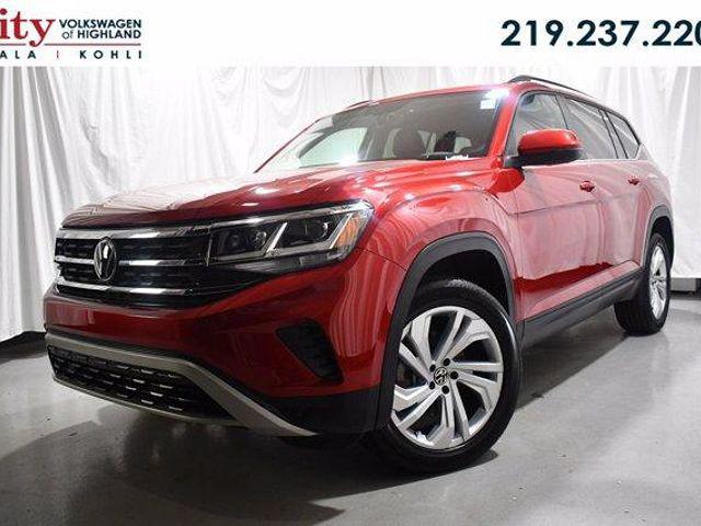 2021 Volkswagen Atlas 3.6L V6 SE w/Technology for sale in Highland, IN