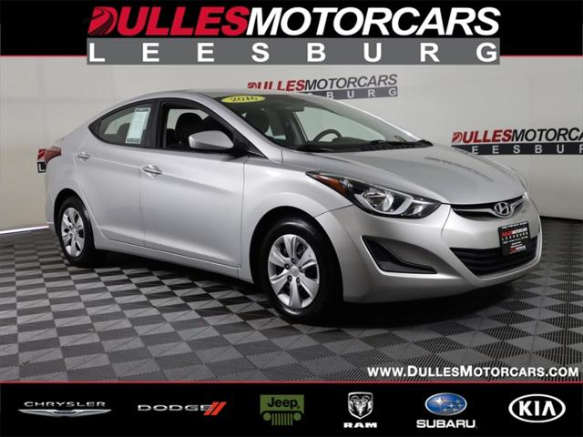 2016 Hyundai Elantra SE for sale in Leesburg, VA