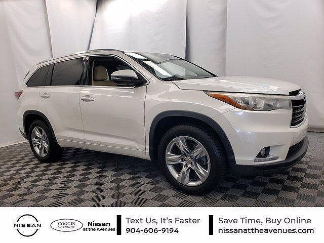 2015 Toyota Highlander Limited for sale in Jacksonville, FL