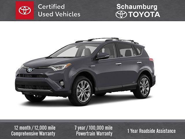 2018 Toyota RAV4 Hybrid Limited for sale in Schaumburg, IL