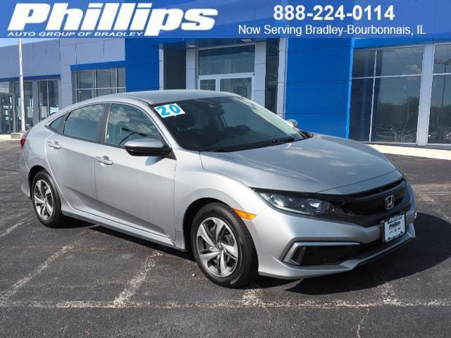 2020 Honda Civic Sedan LX for sale near BOURBONNAIS, IL