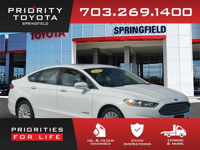 2014 Ford Fusion SE Hybrid for sale in Springfield, VA