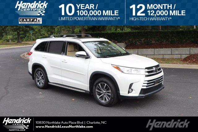 2017 Toyota Highlander SE for sale in Charlotte, NC
