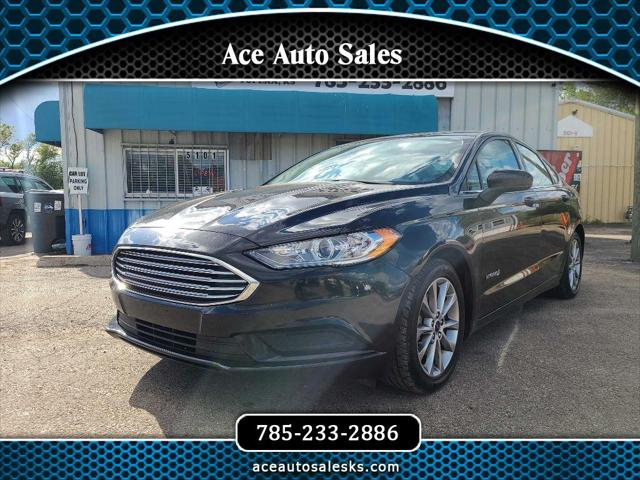 2017 Ford Fusion Hybrid SE for sale in Topeka, KS