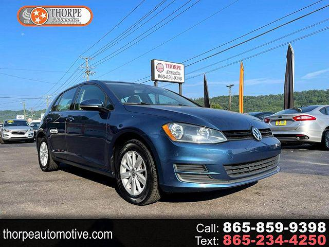 2016 Volkswagen Golf TSI S w/Sunroof for sale in Knoxville, TN