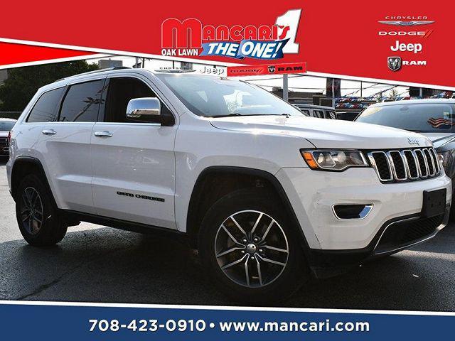 2018 Jeep Grand Cherokee Limited for sale in Oak Lawn, IL