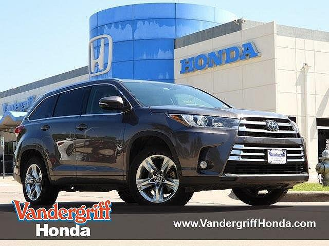 2017 Toyota Highlander Limited for sale in Arlington, TX