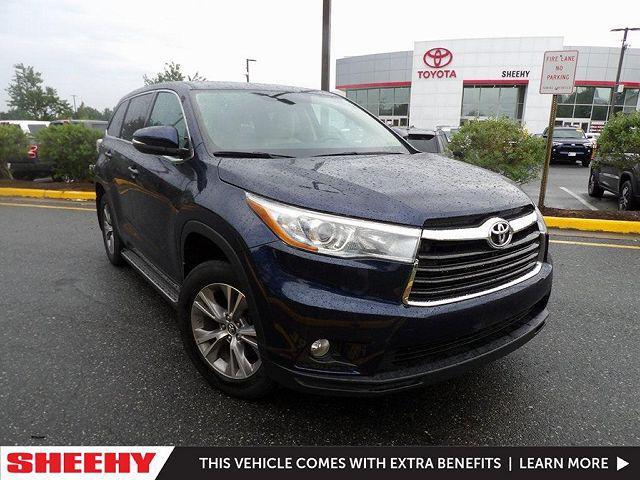 2016 Toyota Highlander LE for sale in Stafford, VA