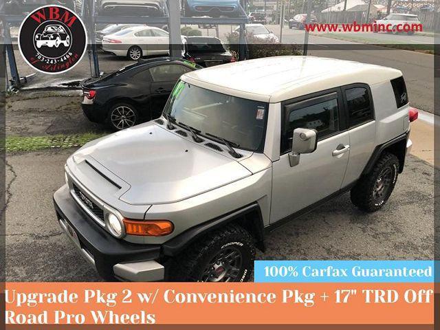 2007 Toyota FJ Cruiser 4WD 4dr Auto (Natl) for sale in Arlington, VA