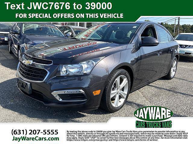 2015 Chevrolet Cruze LT for sale in Patchogue, NY