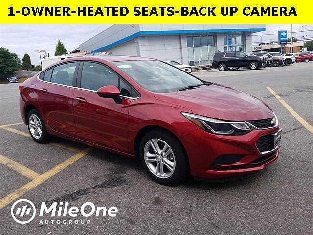 2018 Chevrolet Cruze LT for sale in Owings Mills, MD