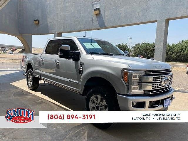 2018 Ford F-250 Platinum Edition for sale in Levelland, TX