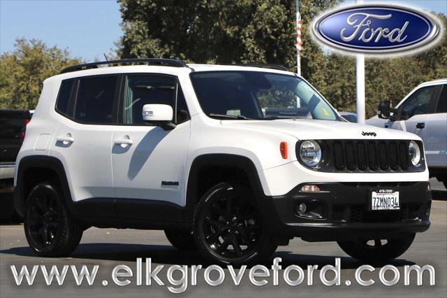 2017 Jeep Renegade Altitude for sale in Elk Grove, CA