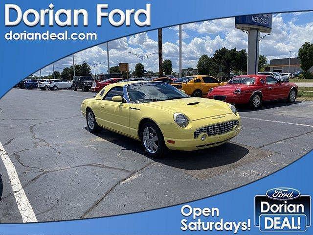 2002 Ford Thunderbird Premium for sale in Clinton Township, MI