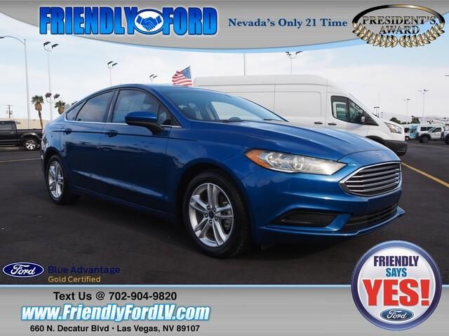 2018 Ford Fusion SE for sale in Las Vegas, NV