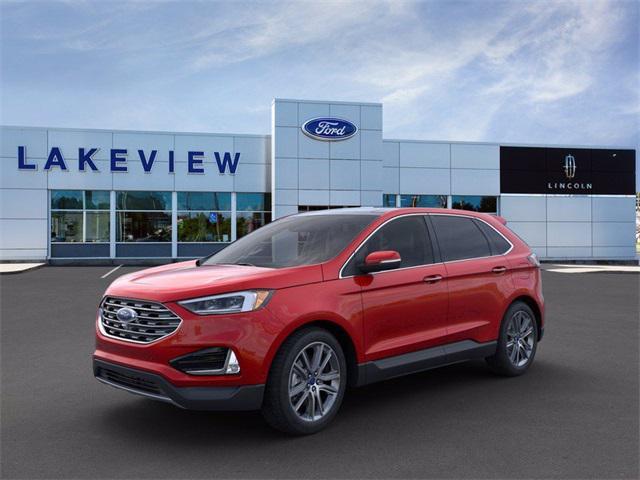 2021 Ford Edge Titanium for sale in Battle Creek, MI