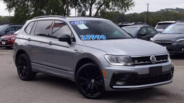 2020 Volkswagen Tiguan SE R-Line Black for sale in San Antonio, TX