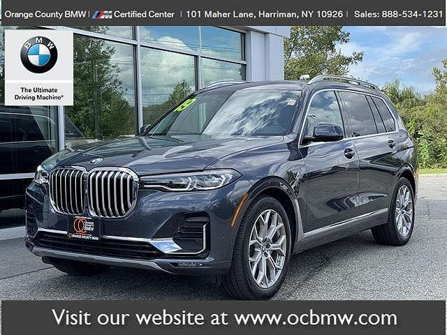 2019 BMW X7 xDrive40i for sale in Harriman, NY