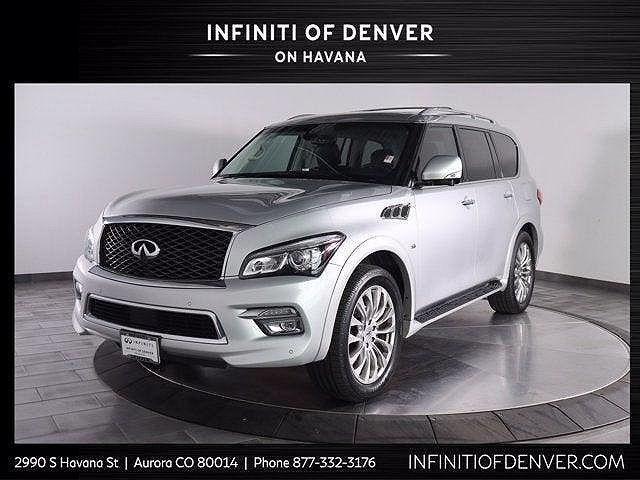 2016 INFINITI QX80 4WD 4dr for sale in Aurora, CO