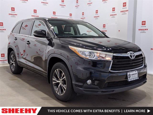 2016 Toyota Highlander XLE for sale in Laurel, MD