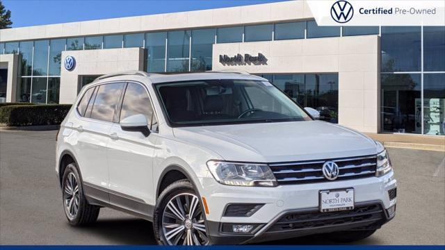 2018 Volkswagen Tiguan SEL for sale in San Antonio, TX