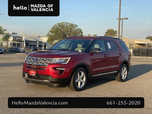 2018 Ford Explorer XLT for sale in Valencia, CA