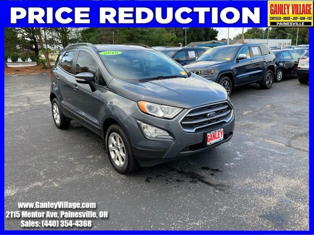 2018 Ford EcoSport SE for sale in Painesville, OH