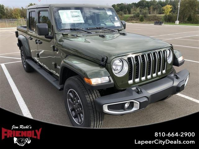 2021 Jeep Gladiator Overland for sale in Lapeer, MI