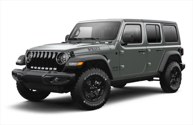 2021 Jeep Wrangler Unlimited Willys for sale in Ventura, CA