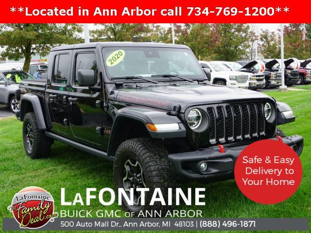 2020 Jeep Gladiator Rubicon for sale in Saline, MI