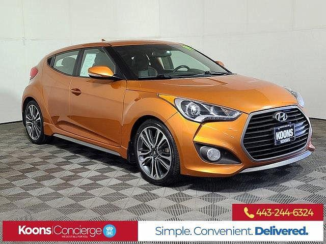 2016 Hyundai Veloster Turbo for sale in Owings Mills, MD