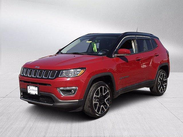 2018 Jeep Compass Limited for sale in Waynesboro, PA