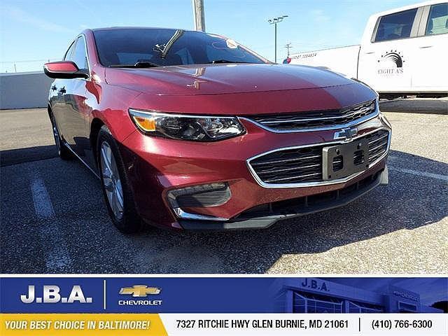 2016 Chevrolet Malibu LT for sale in Glen Burnie, MD