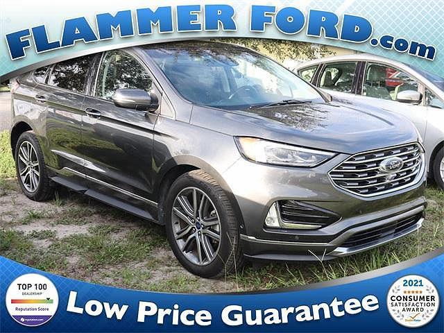 2019 Ford Edge Titanium for sale in Spring Hill, FL