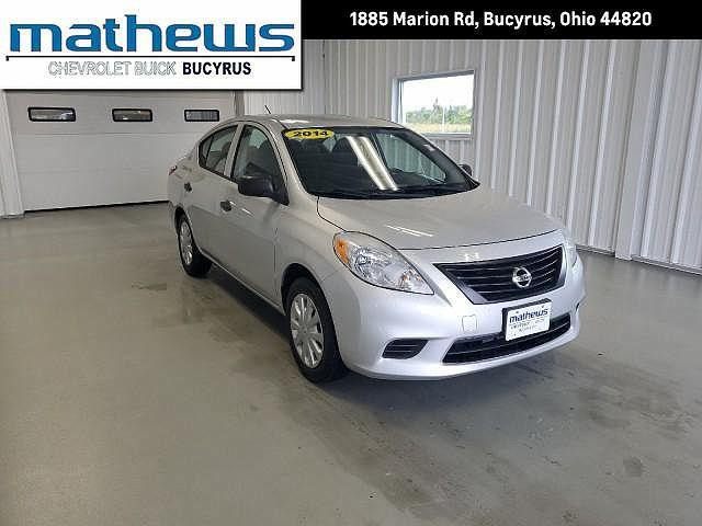 2014 Nissan Versa S for sale in Bucyrus, OH
