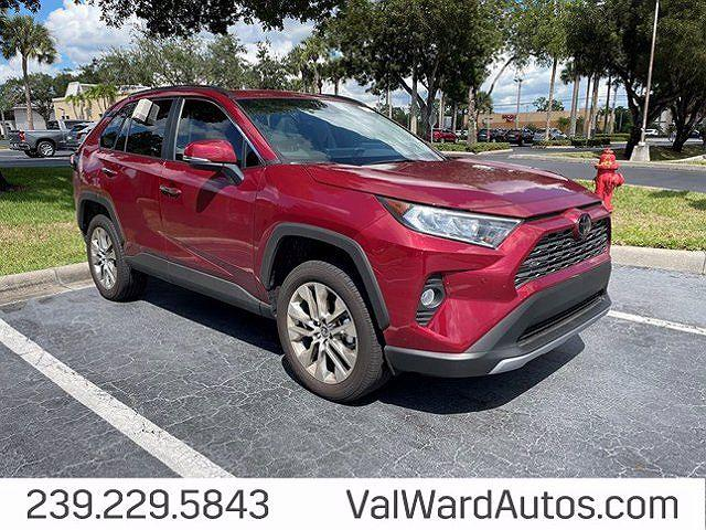 2021 Toyota RAV4 Limited for sale in Fort Myers, FL