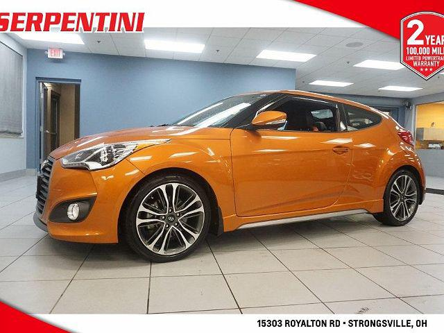 2016 Hyundai Veloster Turbo for sale in Strongsville, OH