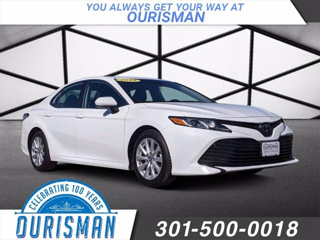 2019 Toyota Camry LE for sale in MARLOW HEIGHTS, MD