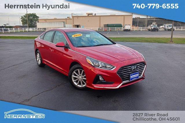 2018 Hyundai Sonata SE for sale in CHILLICOTHE, OH