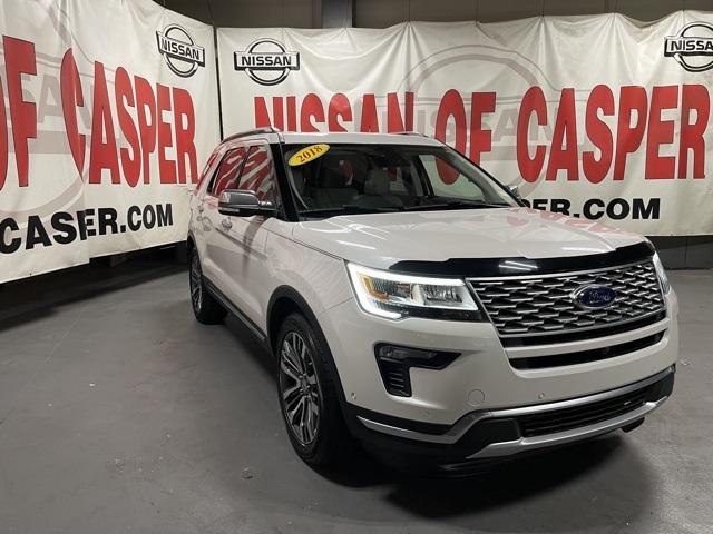 2018 Ford Explorer Platinum for sale in Casper, WY