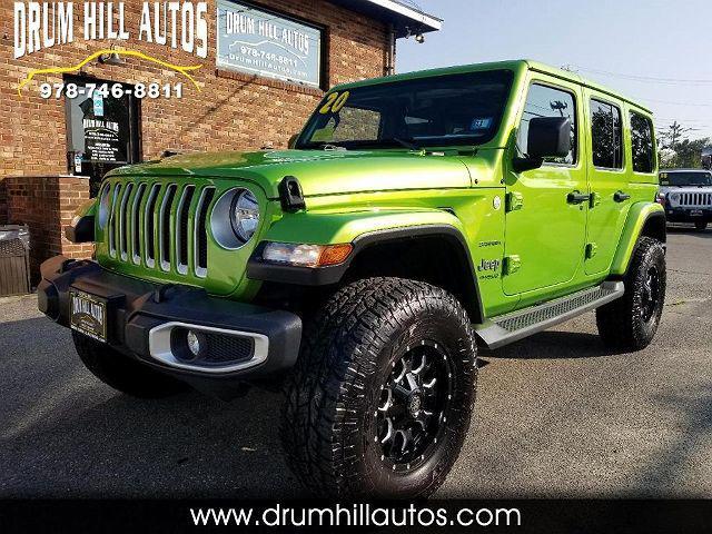 2020 Jeep Wrangler Sahara for sale in Lowell, MA