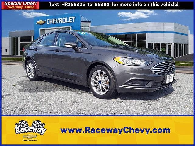 2017 Ford Fusion SE for sale in Bethlehem, PA