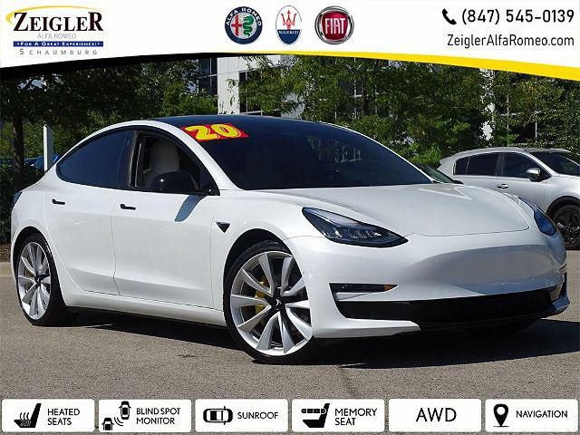 2020 Tesla Model 3 Long Range for sale in Schaumburg, IL