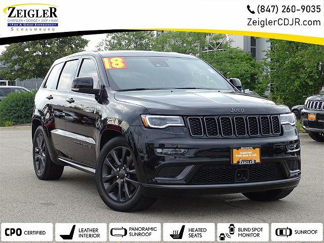 2018 Jeep Grand Cherokee High Altitude for sale in Schaumburg, IL