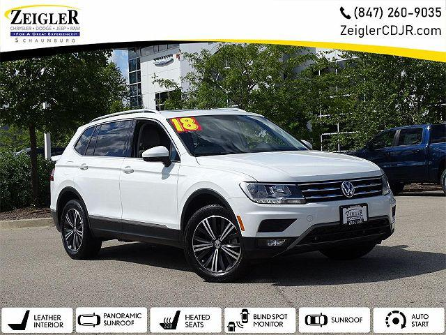 2018 Volkswagen Tiguan SEL for sale in Schaumburg, IL